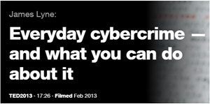 TED Talk - Everyday cybercrime and what you can do about it