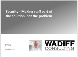 Making staff part of the solution, not the problem