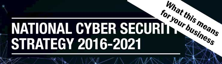 What the National Cyber Security Strategy means for your business