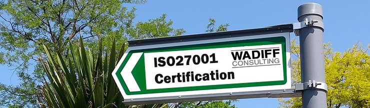 ISO27001 certification with WADIFF Consulting