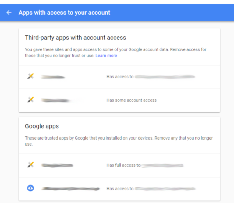 App Access - Gmail
