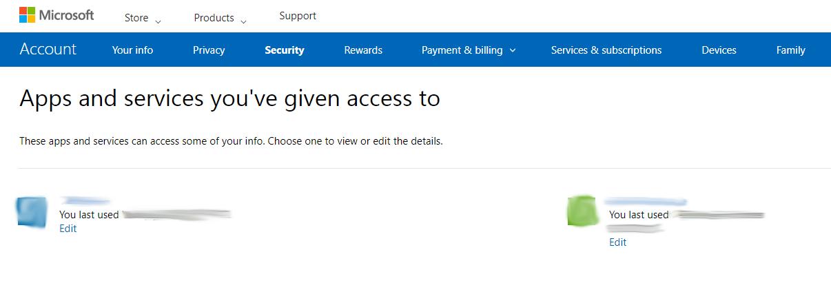App Access - Microsoft.com