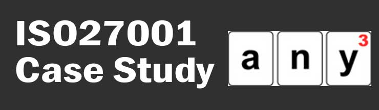 ISO27001 Case Study any-3 software development